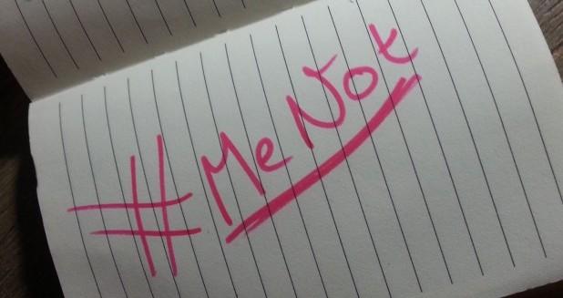 #MeToo en #MeNot