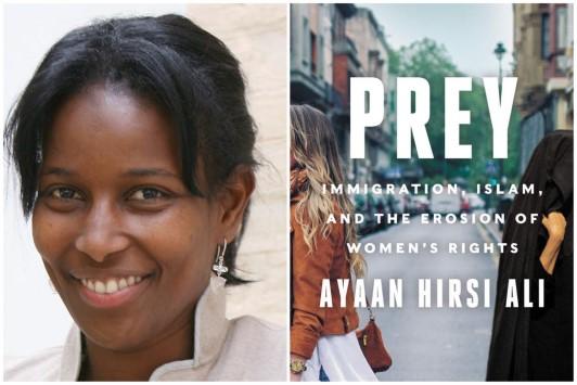 Ayaan Hirsi Ali's nieuwste boek: 'Prooi'